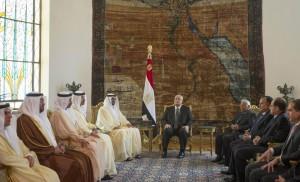 Sheikh Mohammed bin Zayed meets Egypt's Interim President