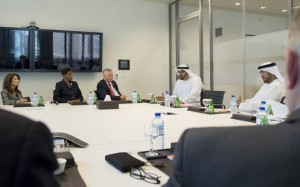 Sheikh Mohammed bin Zayed Receives US Congress Members