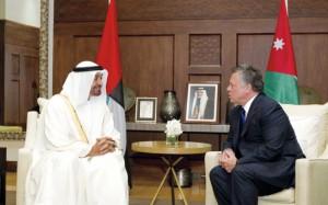 Sheikh Mohammed bin Zayed meets King of Jordan