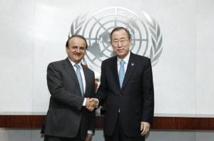 U.N. Chief Hails UAE's Stances on International Peace