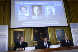 3 win Nobel Prize for Taking Chemistry into Cyberspace
