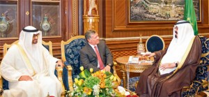 General Sheikh Mohammed Meets King Abdullah