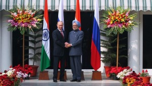 Indian PM Meets Putin