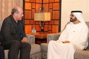 Sheikh Mohammed Receives Australian Defence Minister