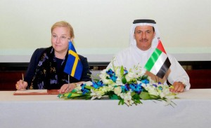 UAE-Sweden Explore Prospects of Joint Cooperation