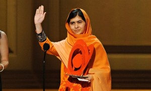 Malala wins Glamour Women of Year Award