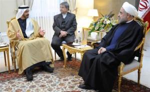 President of Iran Receives Sheikh Abdullah