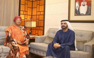 Sheikh Mohammed Meets President of Malawi