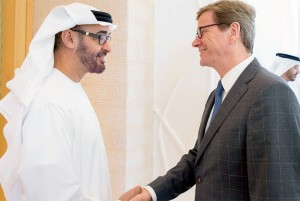 UAE-Germany Discuss Ties