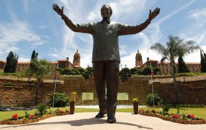 Mandela Statue unveiled in Pretoria