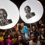 South Africans Pray for Mandela