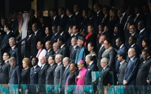 World Unites for Nelson Mandela's Memorial