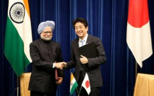 Japanese PM Visits India