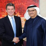 Sheikh Gargash Meets UK Minister for MENA