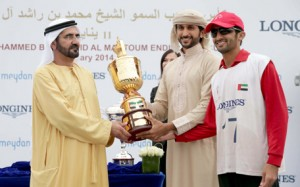 Sheikh Mohammed Attends Endurance Cup