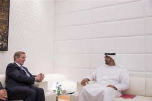 Sheikh Mohammed bin Zayed Meets Irish PM