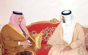 Sheikh Mohammed bin Zayed Meets Saudi FM