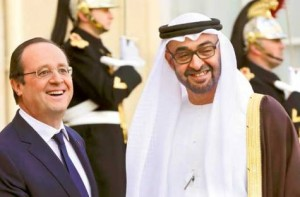 Sheikh Mohammed bin Zayed Meets Hollande