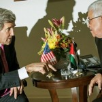 Kerry in constructive Paris talks with Abbas