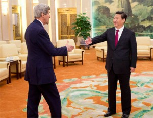 Kerry meets Chinese President Xi