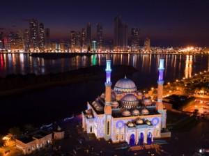 Sharjah Light Festival kicks off