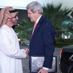 Sheikh Mohammed bin Zayed Meets Kerry
