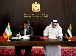 UAE-Iran sign Multiple Agreements