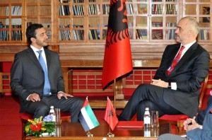 FM meets Albanian PM and Parliament Speaker