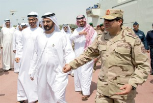 Joint UAE-Egypt military exercise ends