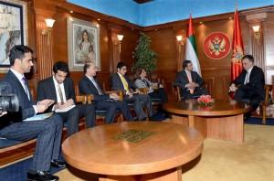 President of Montenegro Receives Sheikh Abdullah