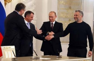 Russian Lawmakers seal Annexation of Crimea