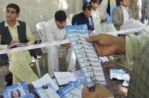 Afghan election result delayed