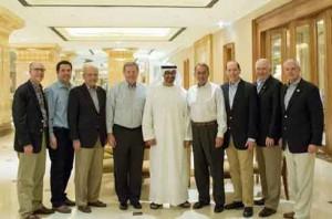 Congress Delegation meets Sheikh Mohamed bin Zayed
