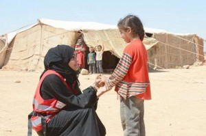 Khalifa Foundation continues Displaced Syrians support