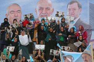 Landmark Afghan election begins