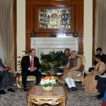 India-Pakistan PM's meet in New Delhi