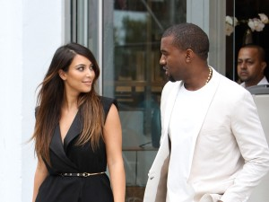 Kim and Kanye tie the knot