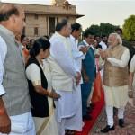 Modi Sworn in, PM Nawaz attends Ceremony