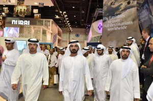 PM launches Dubai's brand at Arabian Travel market
