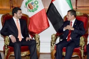 President of Peru receives Sheikh Abdullah