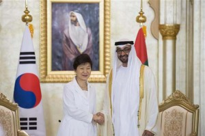 Sheikh Mohamed bin Zayed meets South Korean President