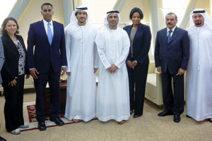 UAE, US to strengthen bilateral ties