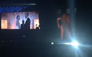 Beyonce unveils wedding video