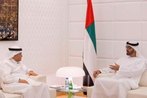 General Sheikh Mohammed held talks with Saudi official
