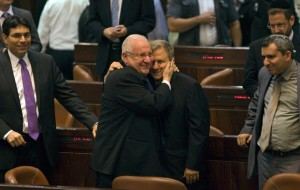 Israel chooses Rivlin as President