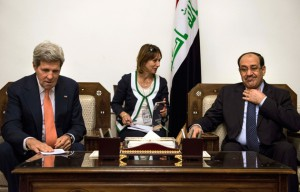 Kerry meets Maliki as Iraq loses control of borders