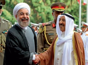 Kuwait Amir in Iran to build ties
