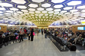 Passenger traffic at Abu Dhabi airport hits record