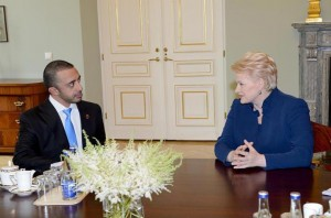 President of Lithuania receives Sheikh Abdullah