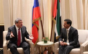 UAE- Russia to upgrade economic ties